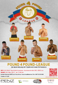 Plakat pound4pound league season 2017_round 1
